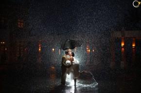 Lạng mạn chụp ảnh cưới trongmưa